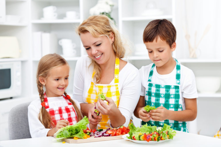 Get Your Child to Eat Healthy Foods
