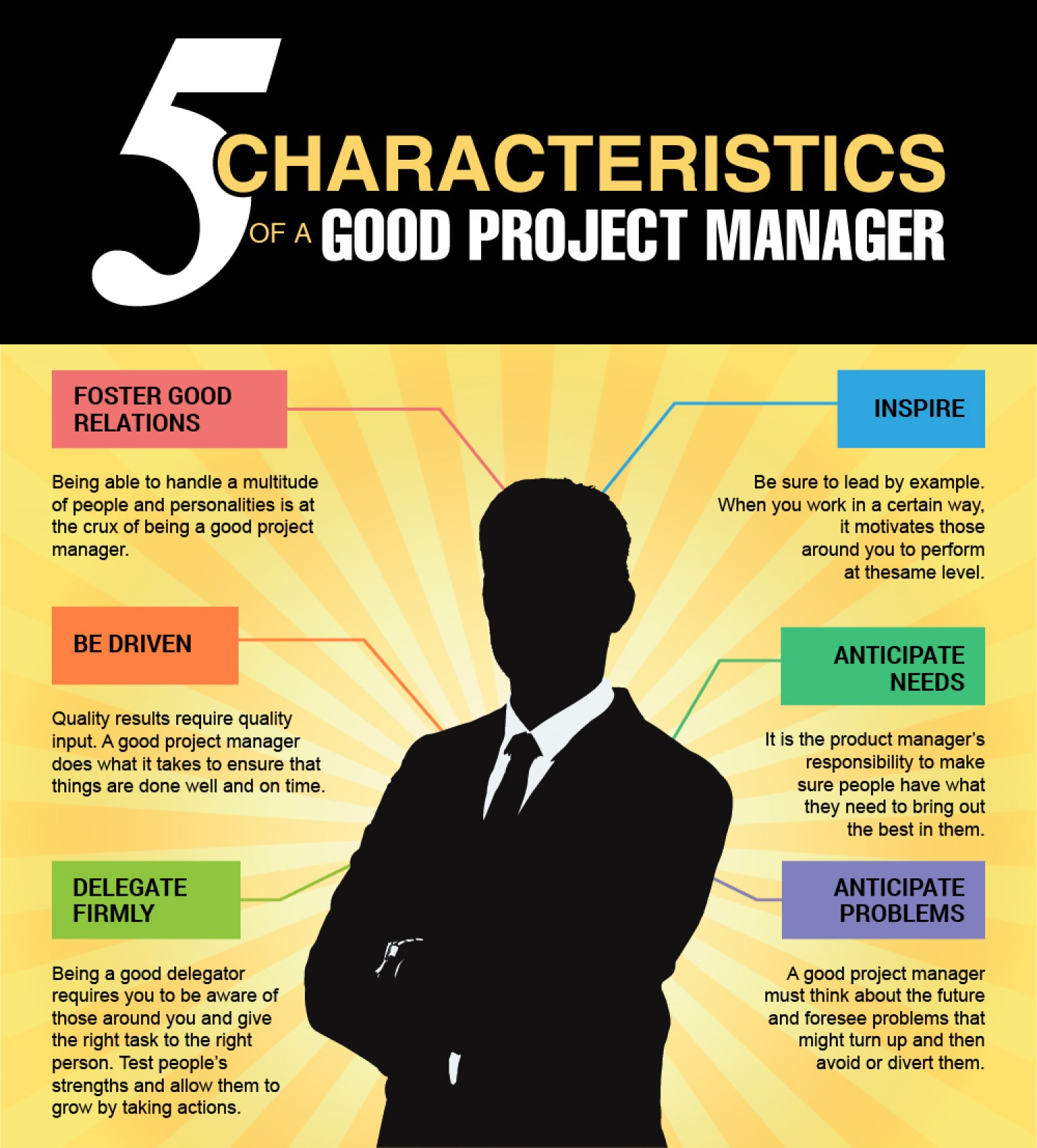 Characteristics of a successful project manager