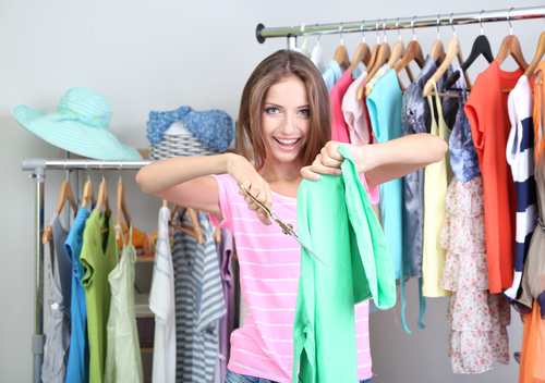 Get Rid of Your Old Clothes