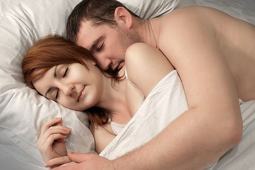 Sex while sleeping