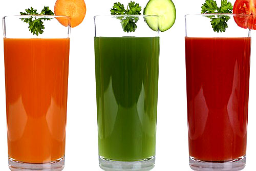 Healthy juices to lose weight