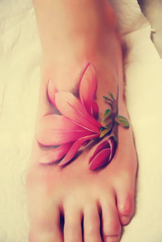 Unique Foot Tattoo Ideas