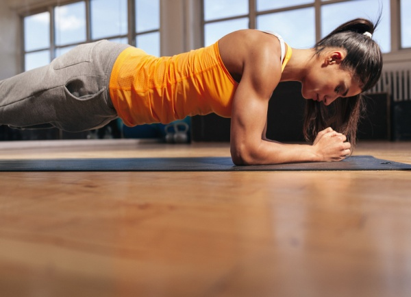 Forearm Plank Pose