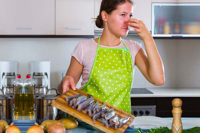 how to get fish smell out of house women fitness magazine