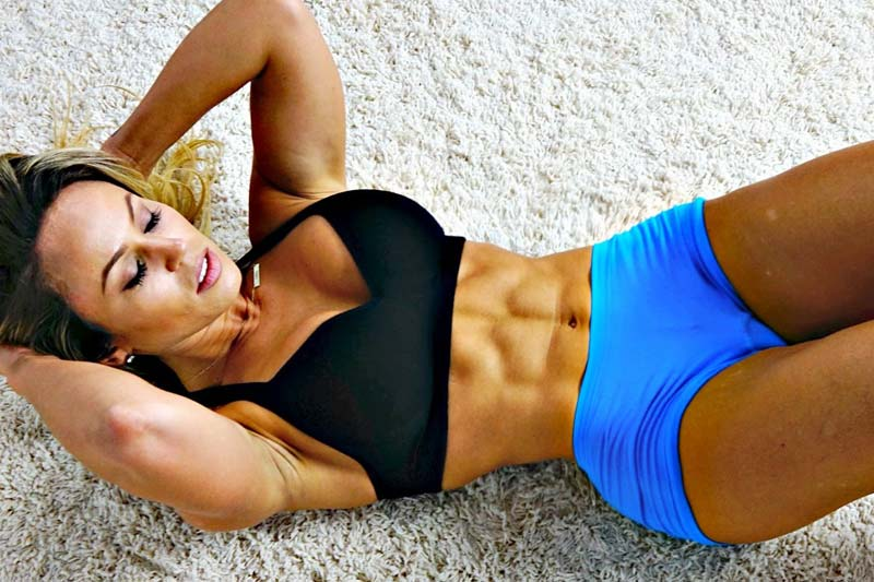 4 Best Exercises for Getting Perfect Abs - Women Fitness ...