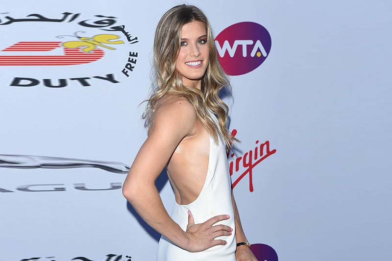 Eugenie Bouchard. The Most Influential Female Tennis Stars on Social Media