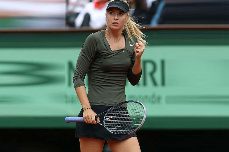 Maria Sharapova. The Most Influential Female Tennis Stars on Social Media