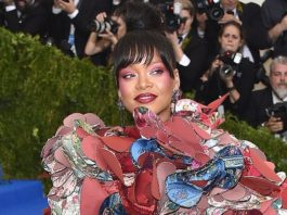 Rihanna Outdoes Everyone — Even Herself! — in Comme des Garcons at the 2017 Met Gala
