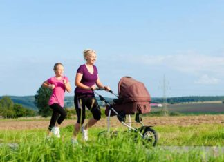 How to Run Safely with a Jogging Stroller, running with baby stroller age, running with baby in carseat, running with baby in pram, running with a stroller calories burned, benefits of running with a jogging stroller, jogging with baby in carrier, running with stroller vs without, proper running form with a jogging stroller,