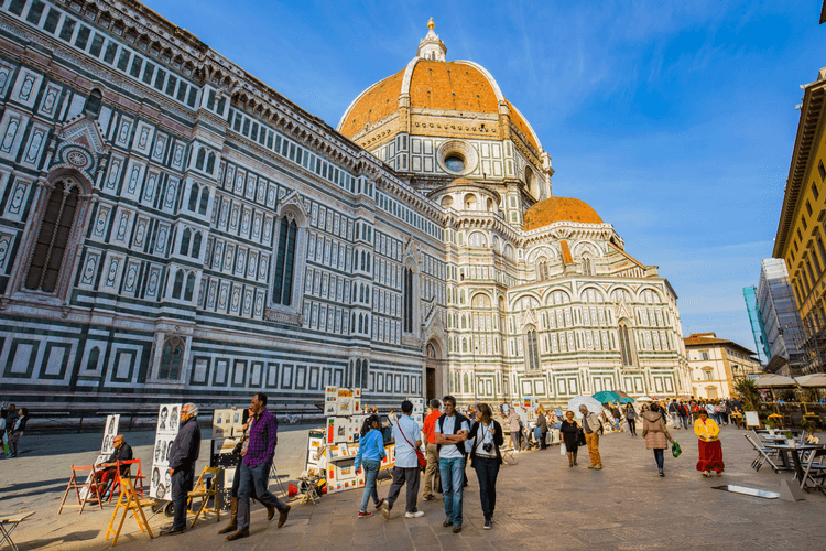 Palazzo Vecchio in Florence, Italy - 5 Safe yet Fun Tourist Attractions for the Solo Woman Traveler