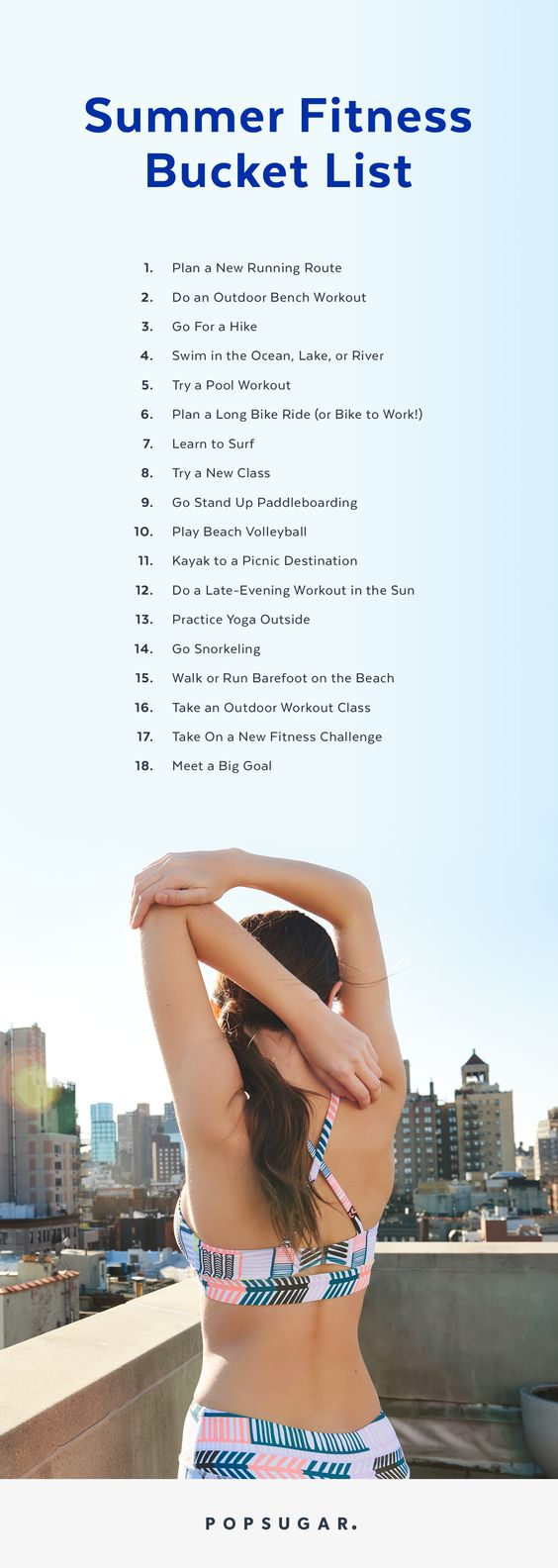 Summer Fitness Checklist