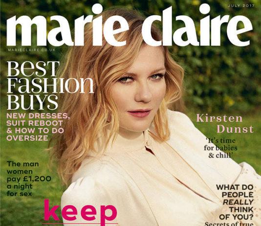 Kirsten Dunst Marie Claire