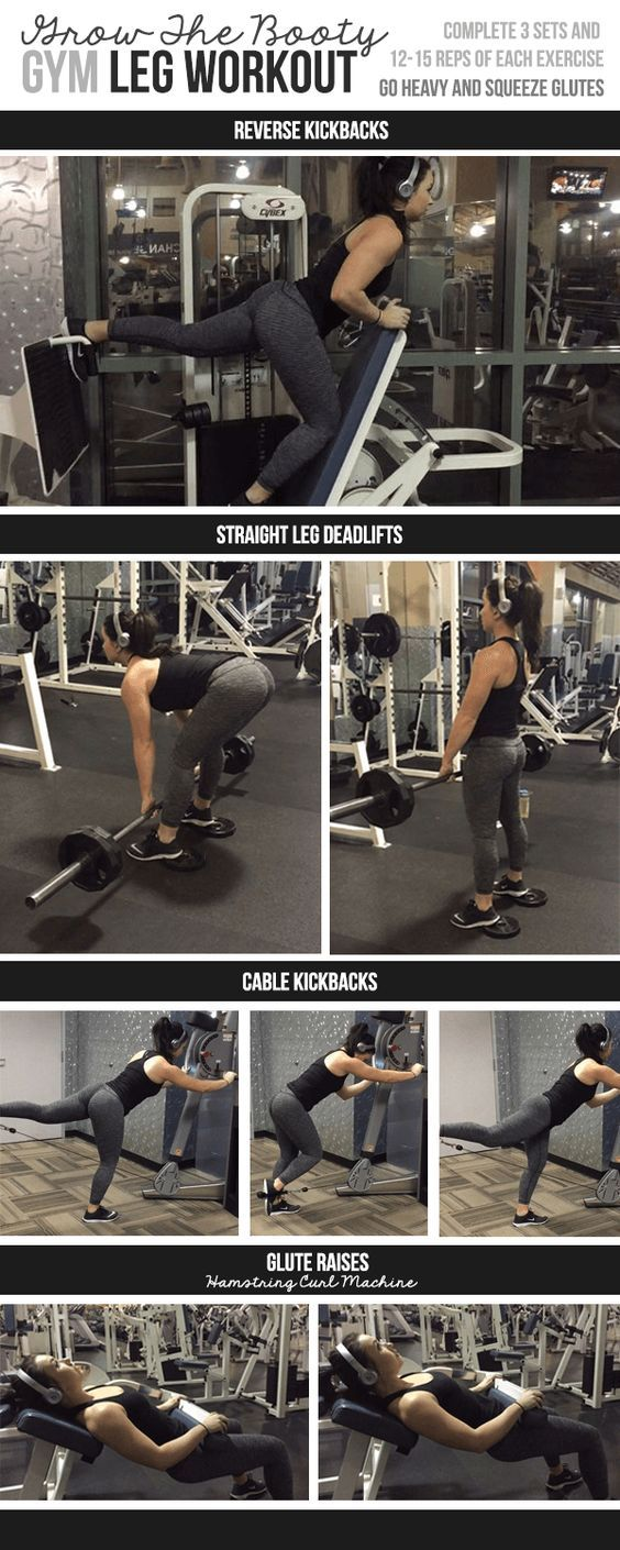 Gym Leg Workout