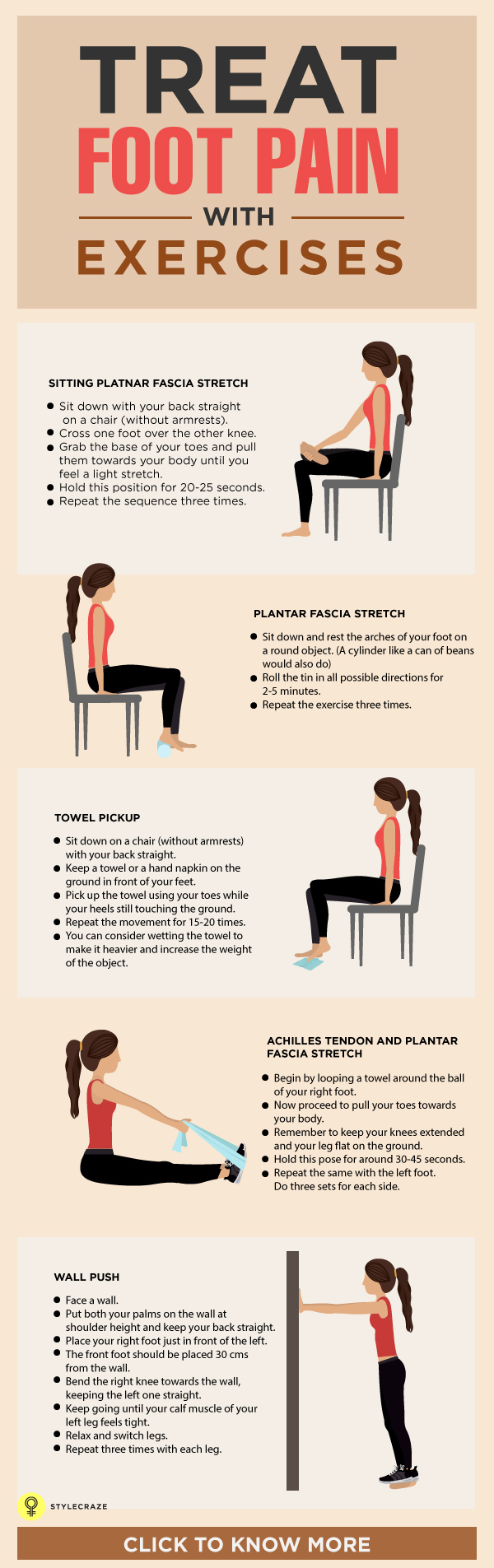 Treat Foot Pain with Exercise