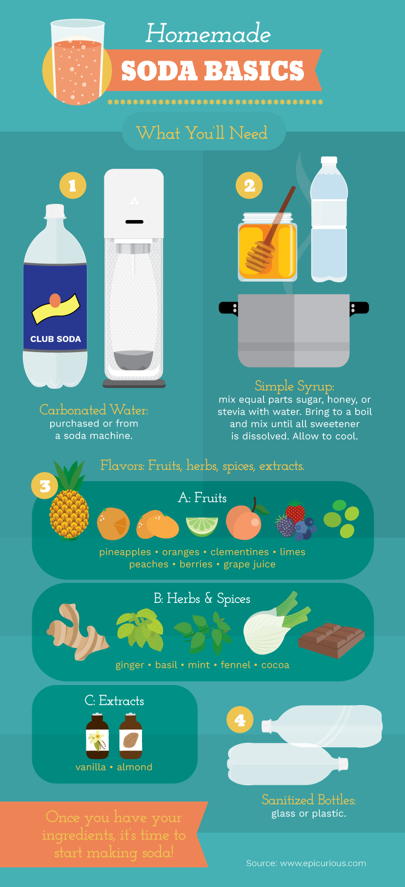 homemade soda basics
