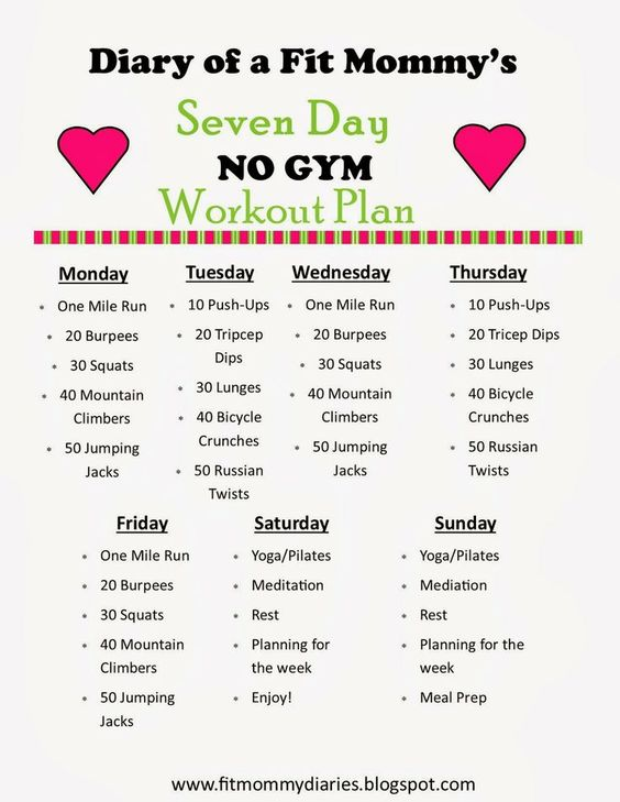 at-home Exercise Routine for Busy Moms