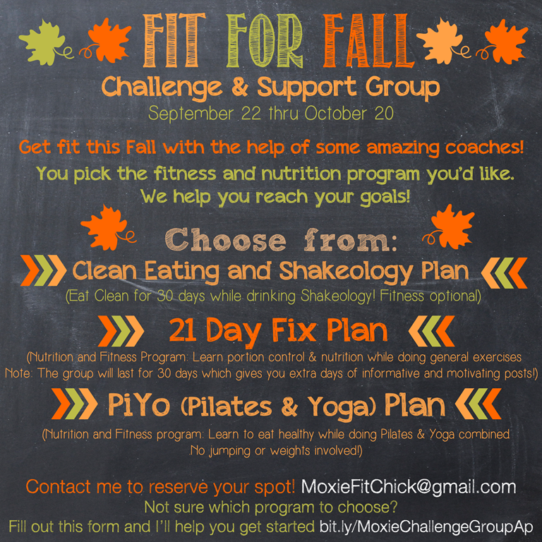 Fit for Fall Announcement