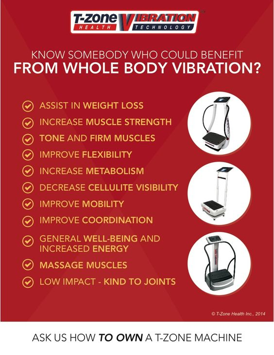 Benefits of Vibration Plate Exercises