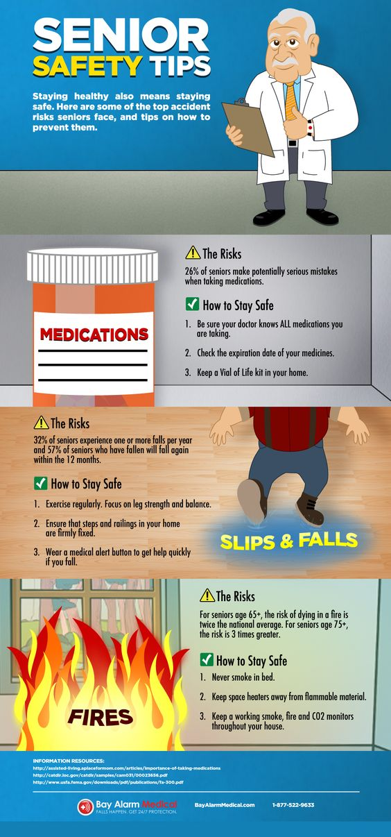 Safety Tips for Seniors Living Alone