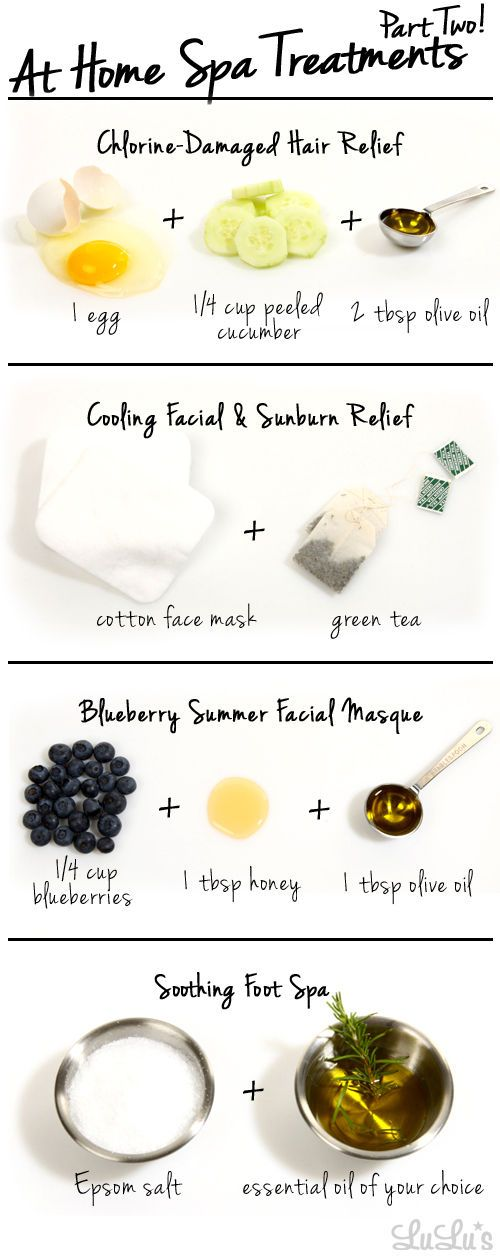 Easy and Affordable At-Home Spa Treatments