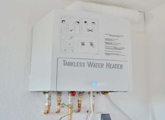 How to Choose the Best Tankless Water Heater, tankless water heater sizing calculator, 10 gpm tankless water heater, 5 gpm tankless water heater, what size water heater do i need calculator, what size tankless water heater do i need to replace a 50 gallon water heater, electric tankless water heater, tankless water heater reviews, 10 gpm electric tankless water heater,