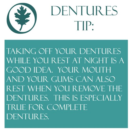 Complete and Partial Dentures TIP