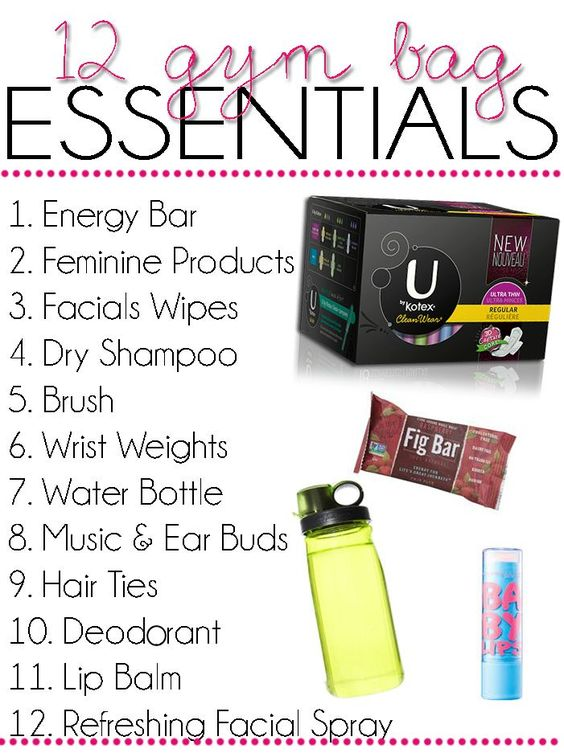 gym bag essentials 3
