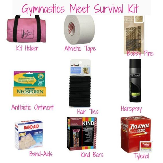 gymnastics survival kit
