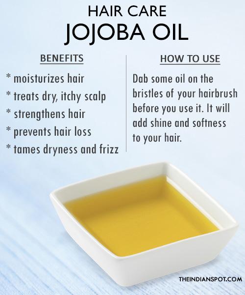 Hair care hair-oil-jojoba