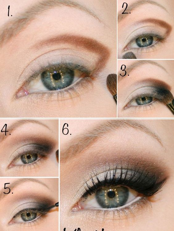 Seductive eye looks