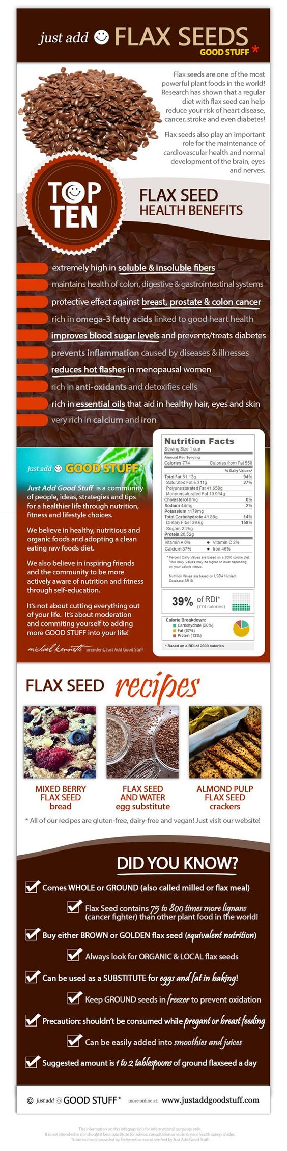 flax seeds health benefits