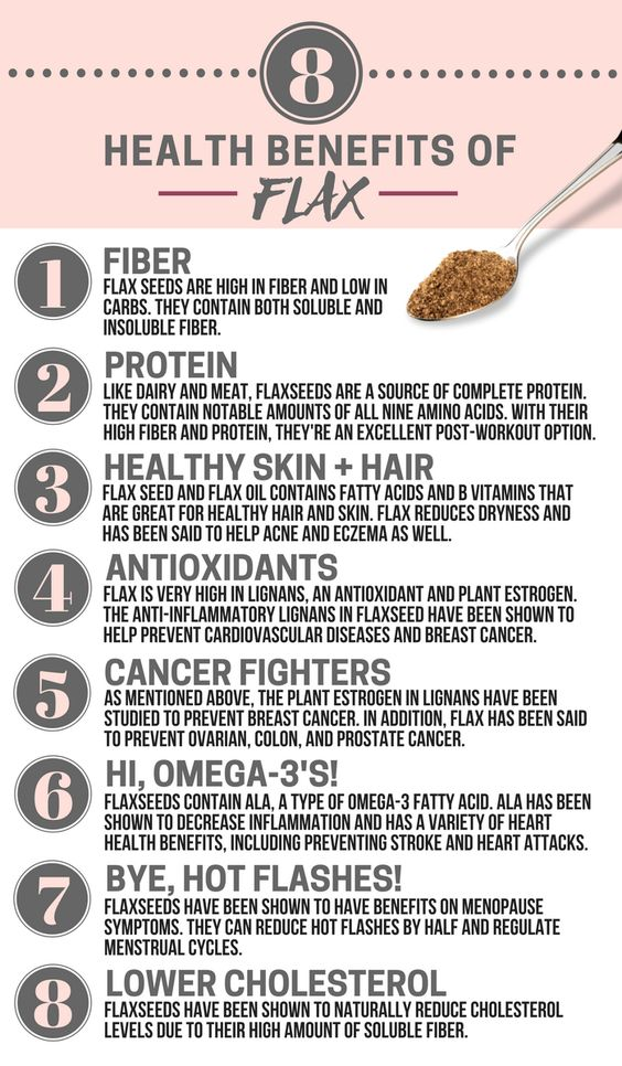 health benefits of flax