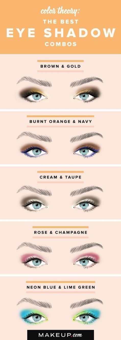 the best eye shadow combos
