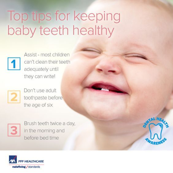 top tips for keeping baby teeth healthy
