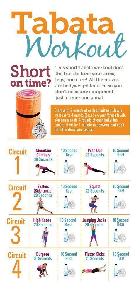 workout for short on time