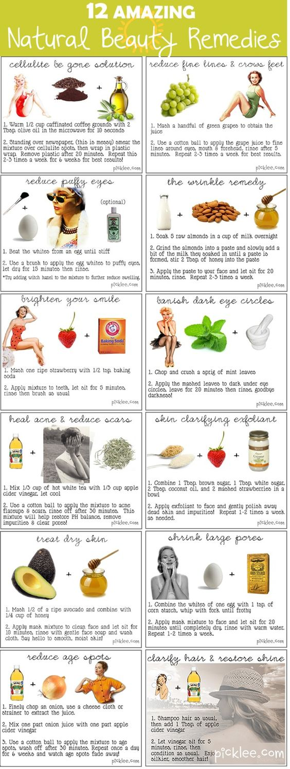 Amazing natural beauty remedies