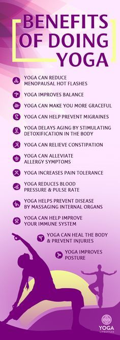 Benefits of Doing Yoga