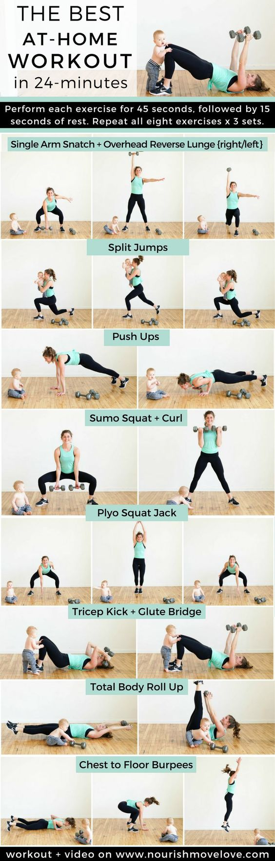 best at-home workout strength training for women