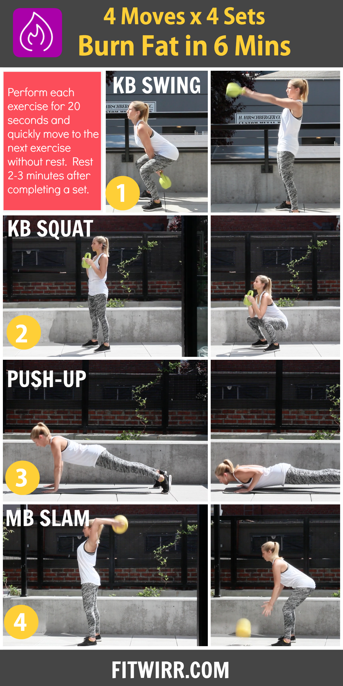kettlebell Fat Burning Workout