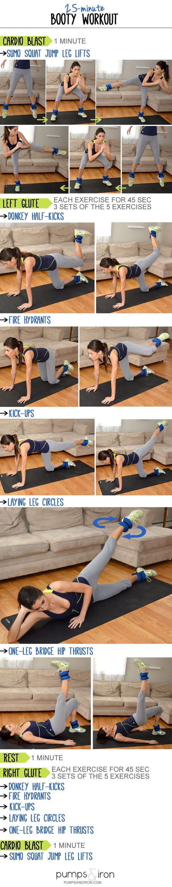 25 minute booty workout