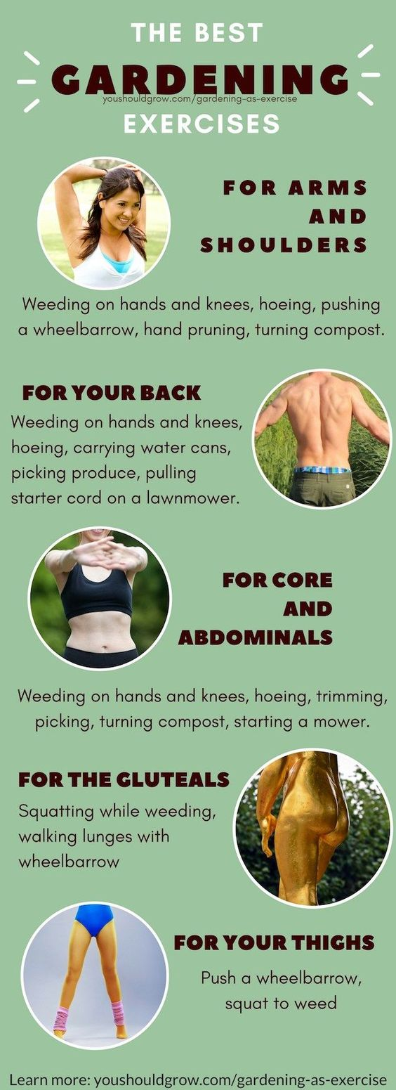 Best Gardening Exercise