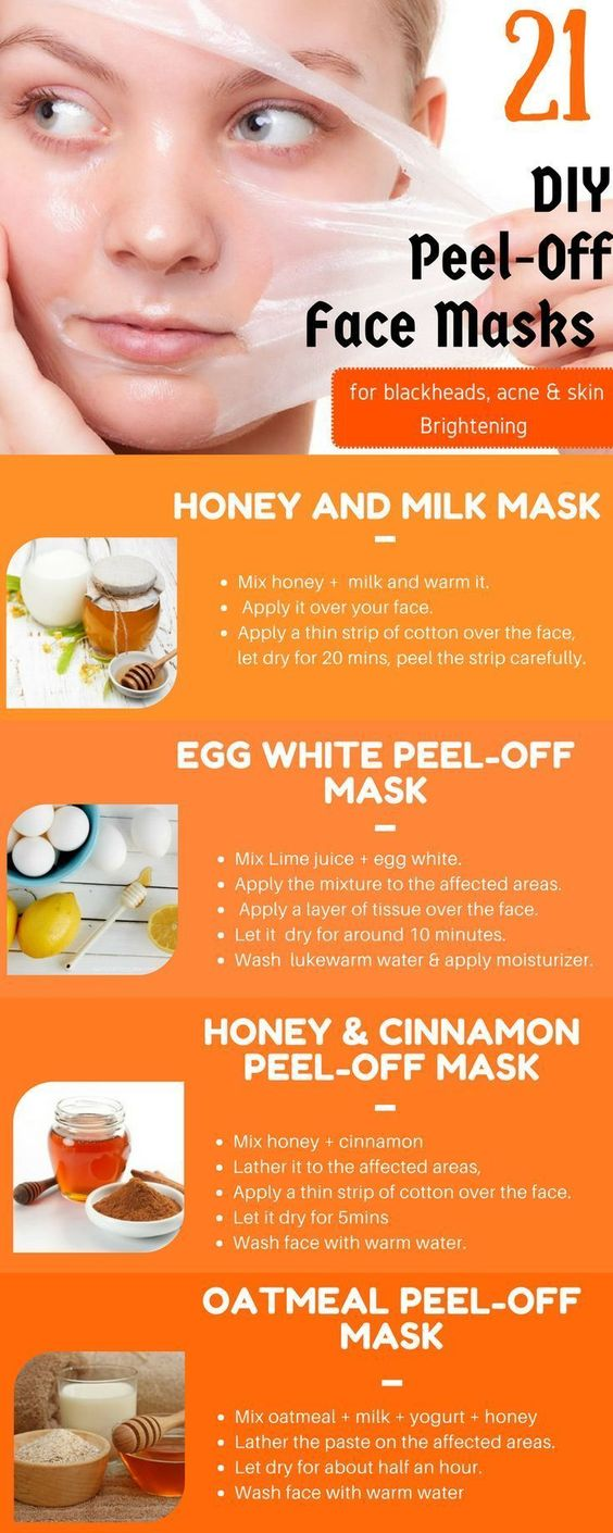 DIY Peel Off Face Masks
