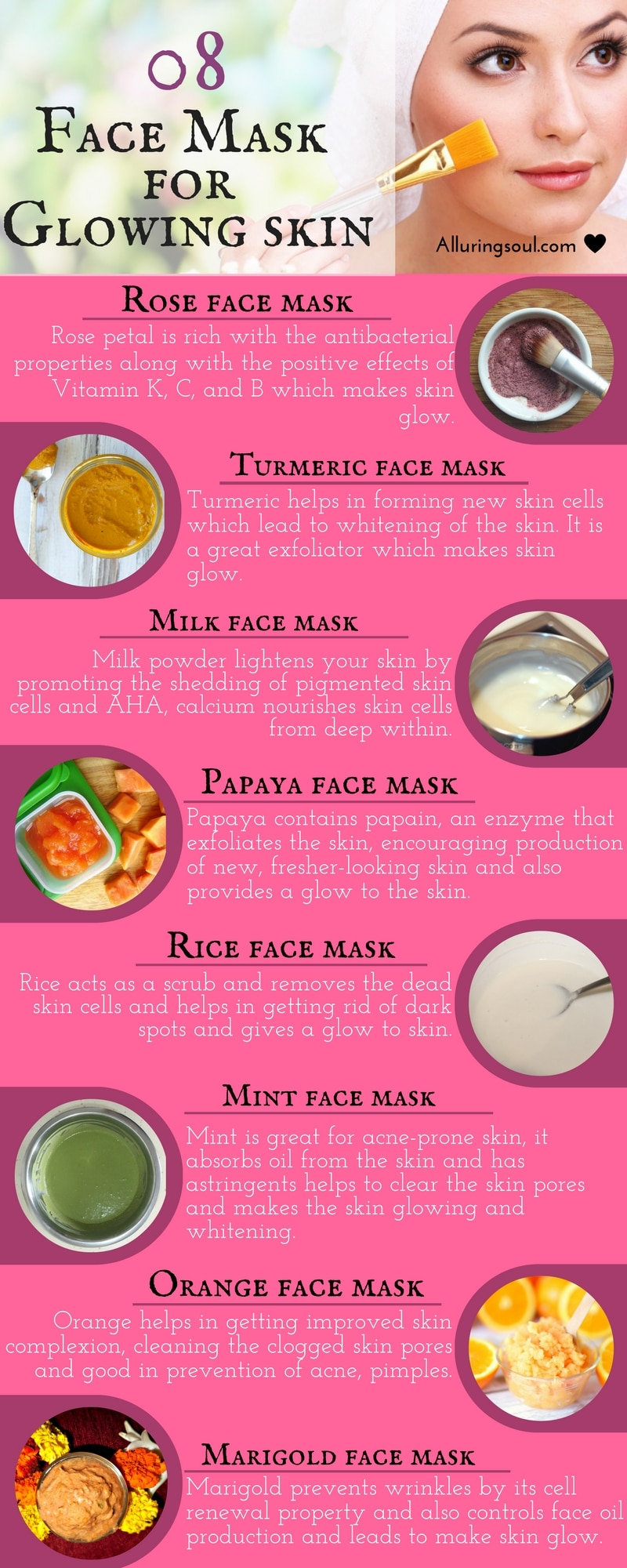 Face mask for glowing skin 2