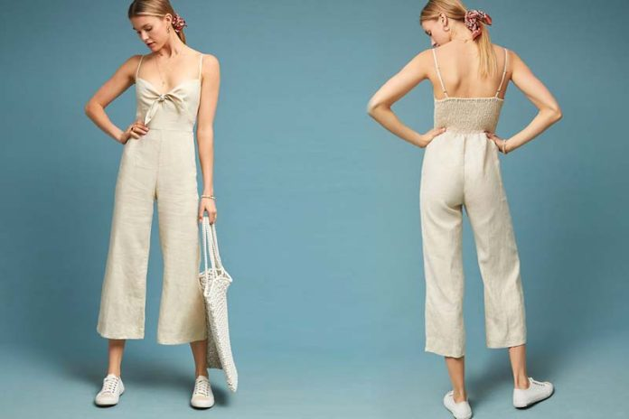 Quintessential Linen Jumpsuits For Women This Summer, linen one piece jumpsuit, linen jumpsuit zara, white linen jumpsuit, linen jumpsuits rompers, denim jumpsuit, linen overalls, linen romper womens, striped linen jumpsuit,