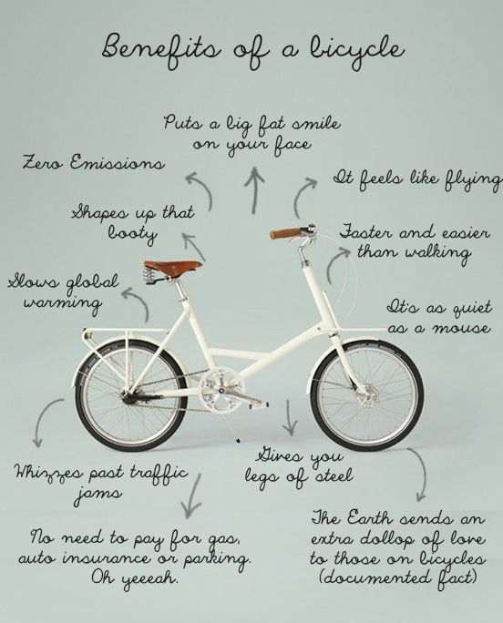 benefits of bicycle