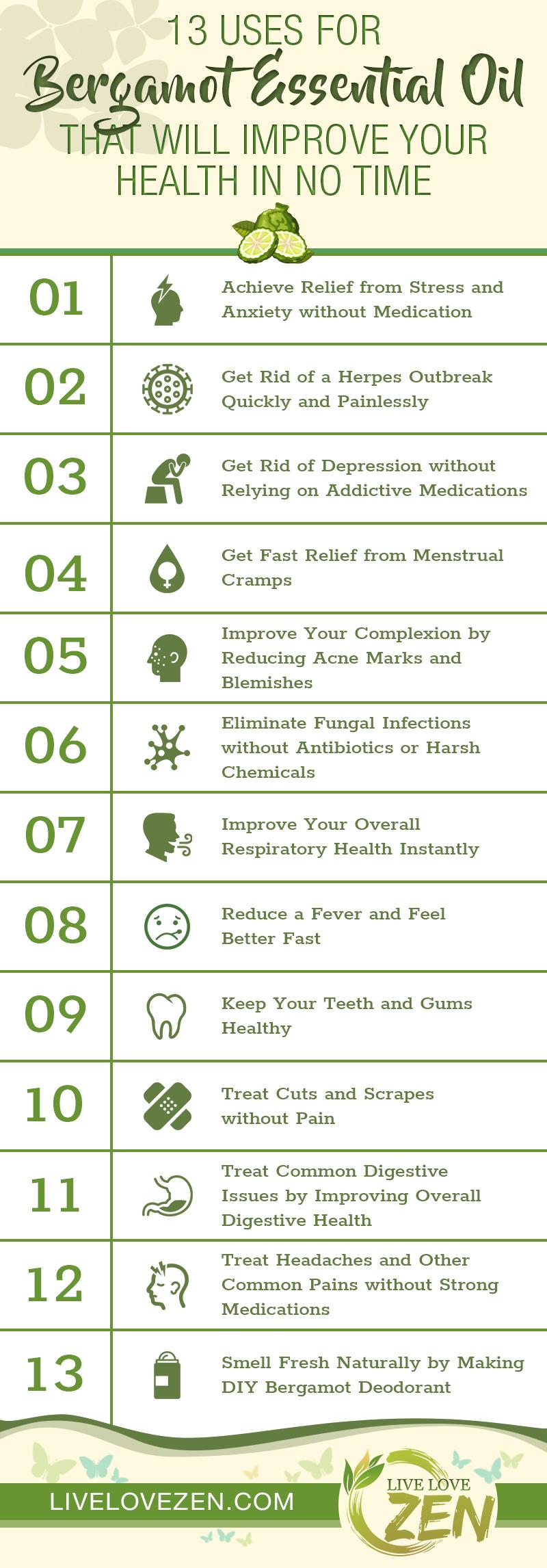bergamot essential oil health benefits