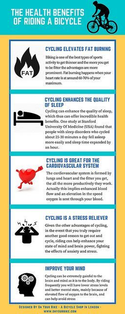 health benefits of rising a bicycling
