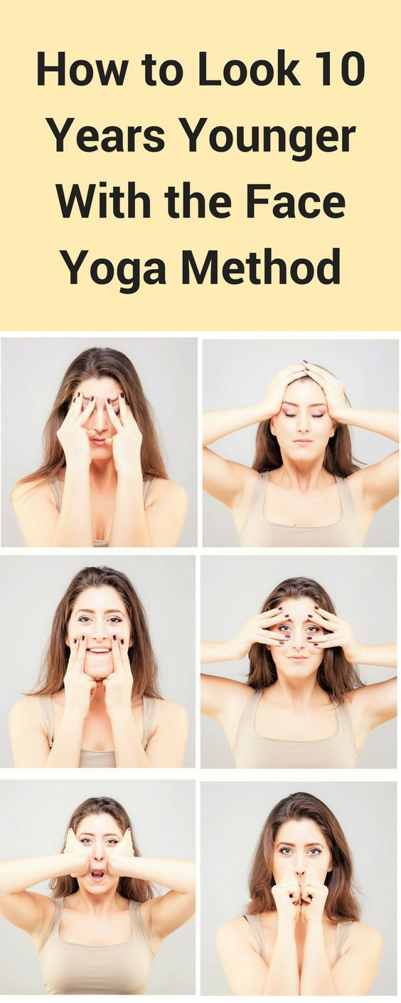 how to look 10 years younger with face yoga method