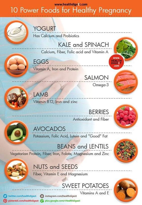 power foods for healthy pregnancy
