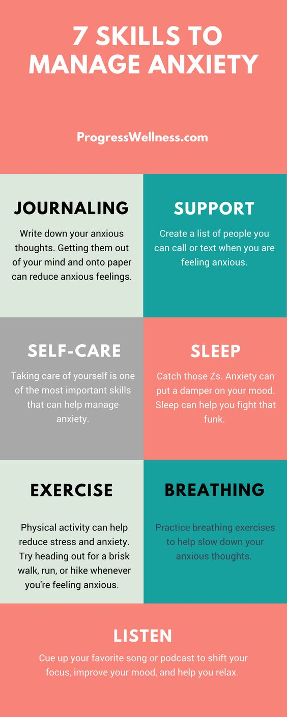 skills to manage anxiety